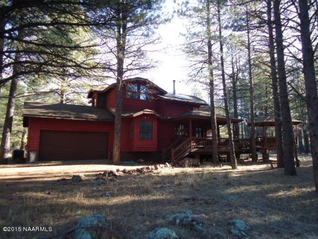 Munds Park Log Cabins For Sale | Flagstaff Homes and Real ...