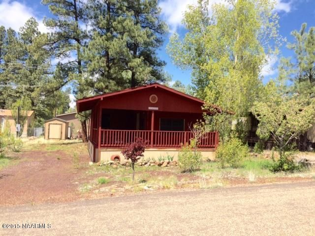 A Frame Cabin For Sale In Munds Park | 1250 antelope trail ...