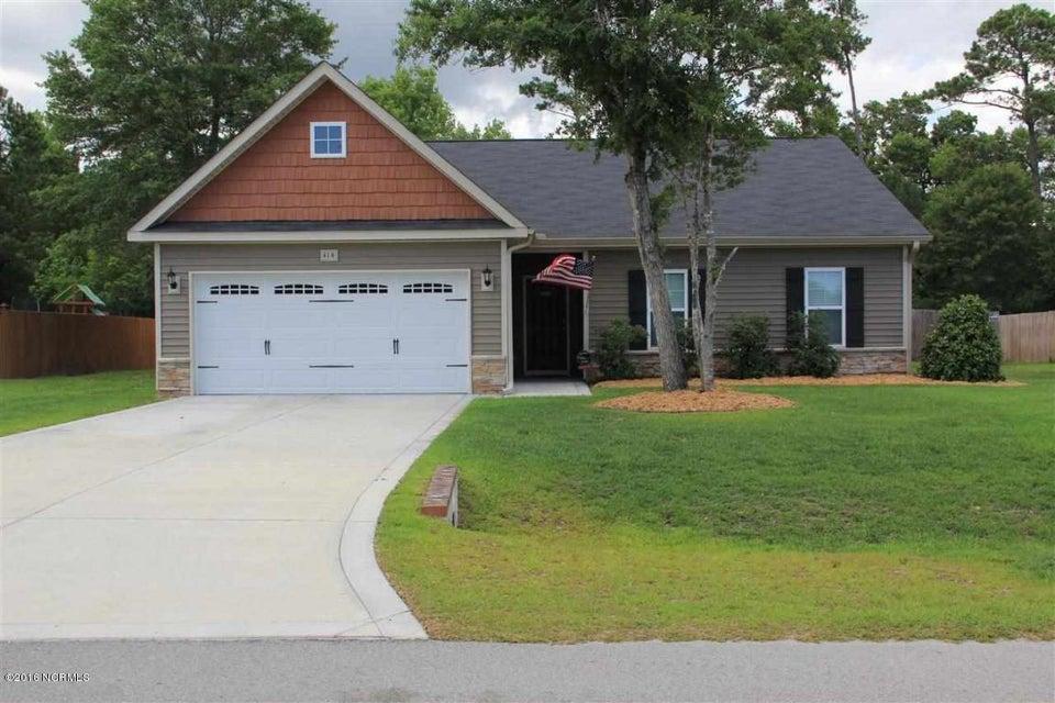 414 Peppermint Drive, Hubert, NC 28539