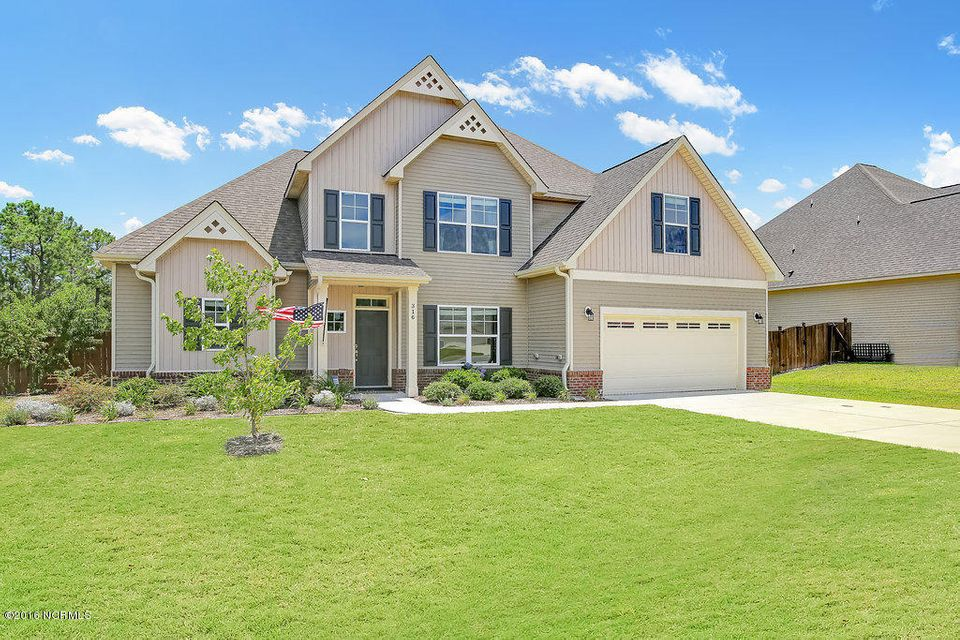 316 Plymouth Lane, Holly Ridge, NC 28445