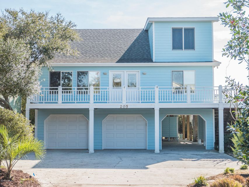 205 Bridgers Avenue, Topsail Beach, NC 28445