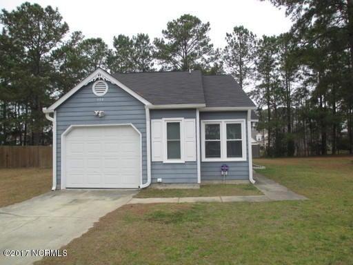 498 Hemlock Drive, Jacksonville, NC 28546