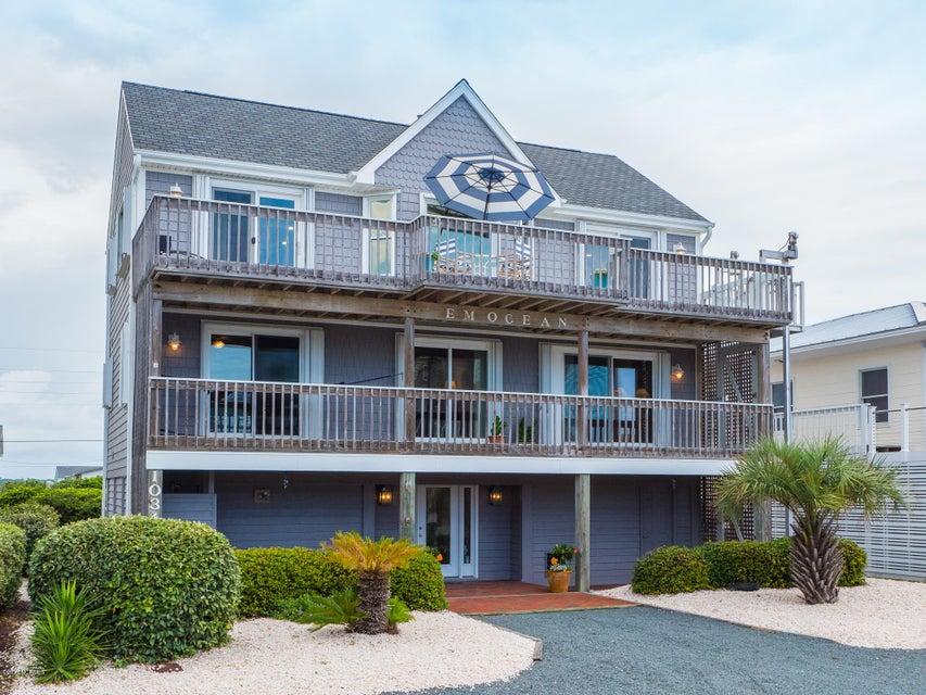 1034 Ocean Boulevard, Topsail Beach, NC 28445