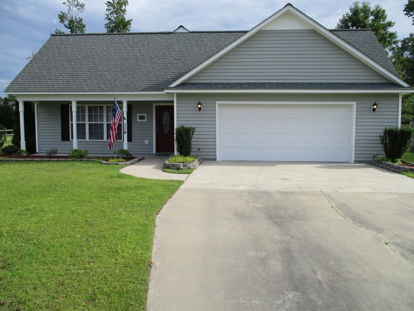 114 Secretariat Drive, Havelock, NC 28532