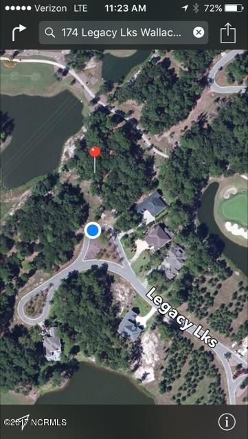 174 Legacy Lakes Drive,Wallace,North Carolina,Residential land,Legacy Lakes,100086563