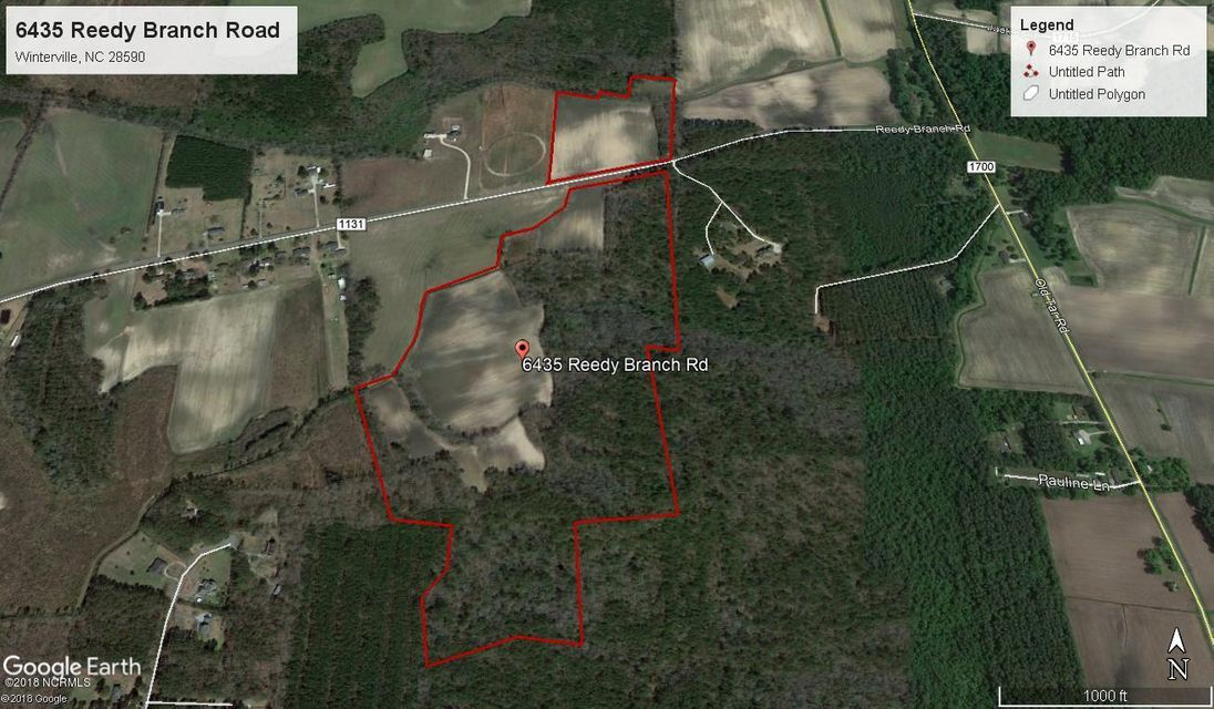 Property for sale at 6435 Reedy Branch Road, Winterville,  NC 28590
