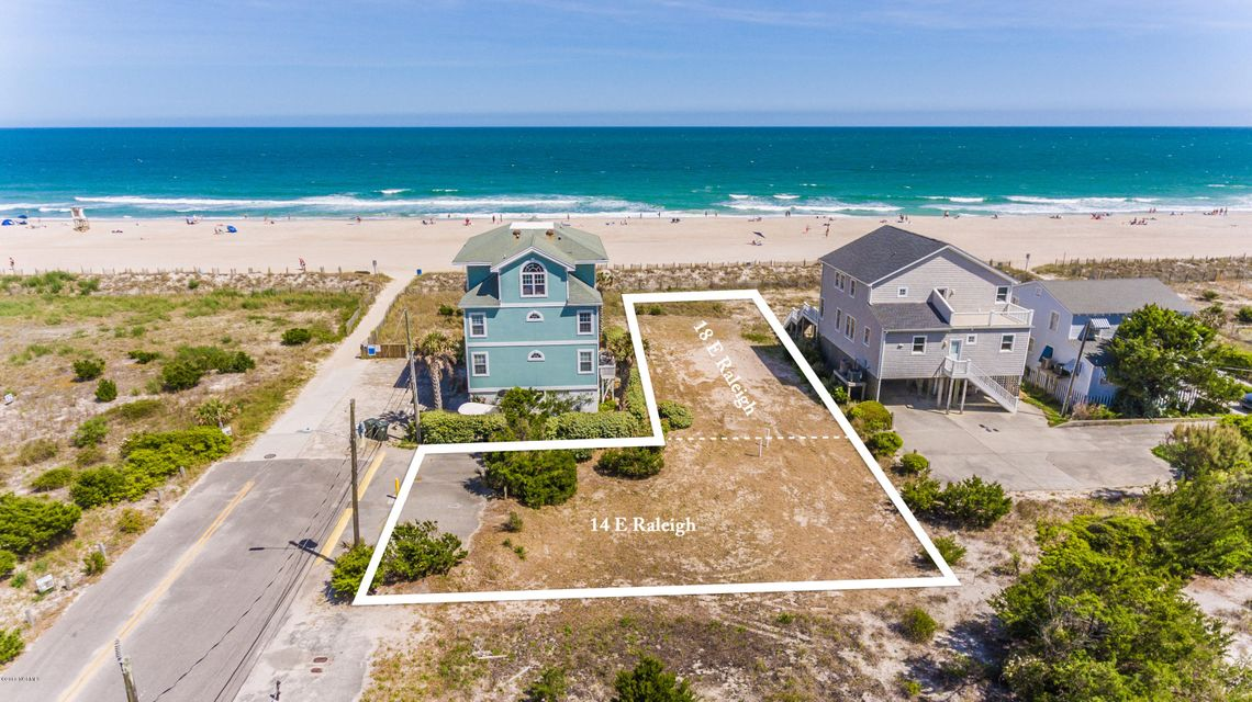 14 & 18 Raleigh Street,Wrightsville Beach,North Carolina,Residential land,Raleigh,100114826