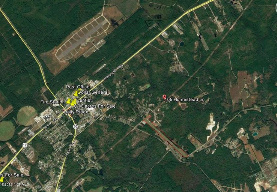 105 Homestead Lane,Holly Ridge,North Carolina,Residential land,Homestead,100119687