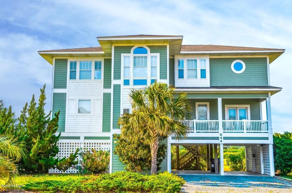 Property for sale at 644 Ocean Boulevard, Holden Beach,  NC 28462