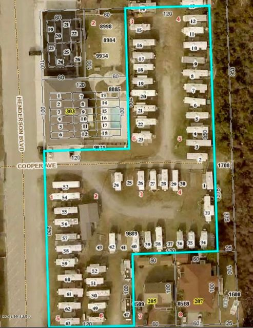 Property for sale at 401 Henderson Boulevard, Atlantic Beach,  NC 28512