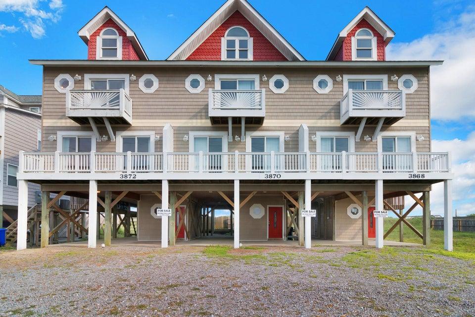 3870 Island Drive,North Topsail Beach,North Carolina,4 Bedrooms Bedrooms,6 Rooms Rooms,3 BathroomsBathrooms,Townhouse,Island,100127564