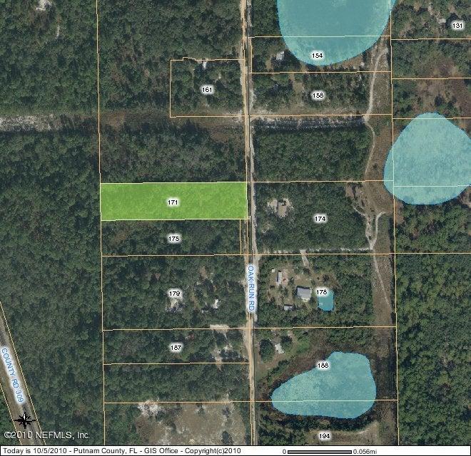 171 Oak Run,CRESCENT CITY,FLORIDA 32112,Vacant land,Oak Run,555695