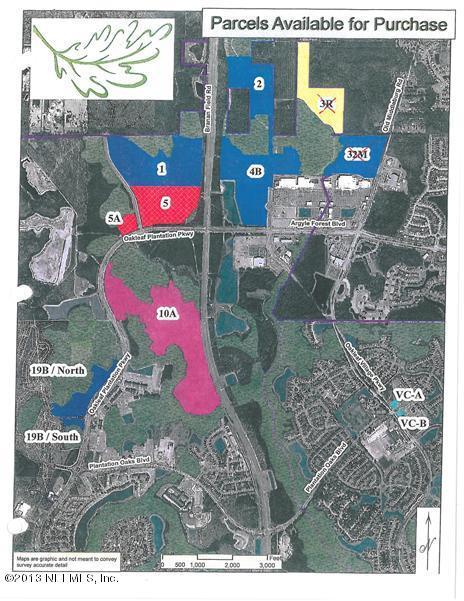 Oakleaf Village,ORANGE PARK,FLORIDA 32065,Vacant land,Oakleaf Village,657542