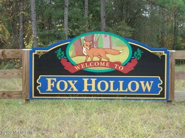 9960 FOX HOLLOW,HAMPTON,FLORIDA 32044,Vacant land,FOX HOLLOW,663717
