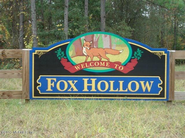 6330 FOX HOLLOW,HAMPTON,FLORIDA 32044,Vacant land,FOX HOLLOW,663728