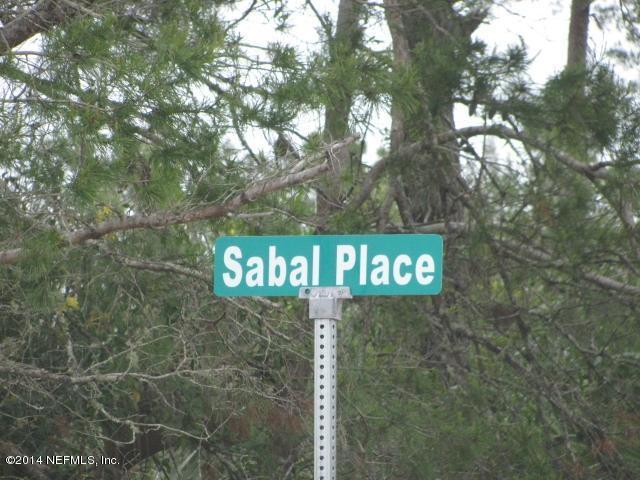 106 SABAL,SATSUMA,FLORIDA 32189,Vacant land,SABAL,707725