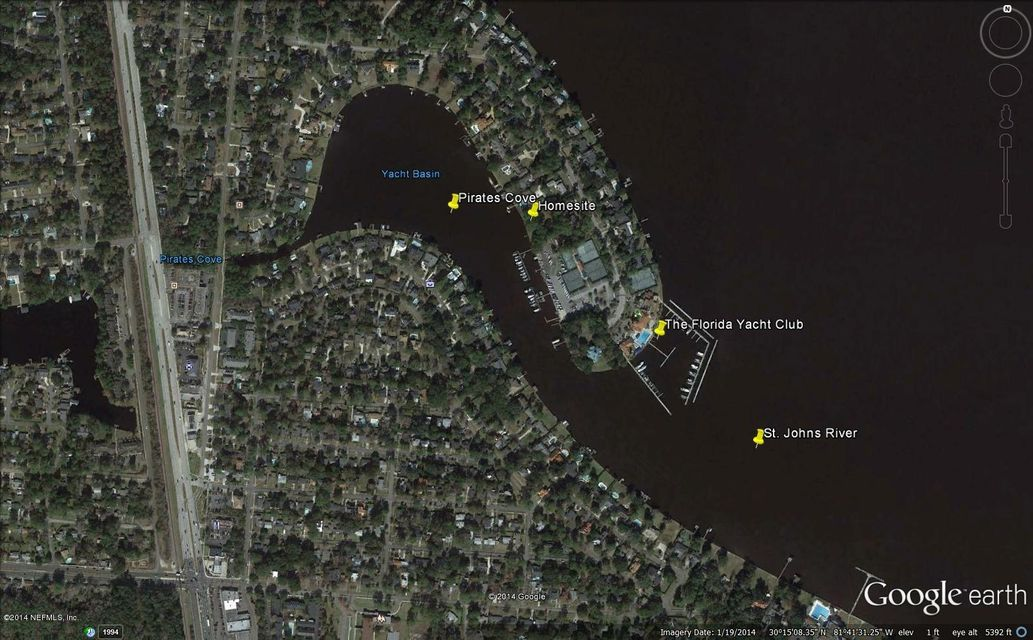 5119 YACHT CLUB,JACKSONVILLE,FLORIDA 32210,Vacant land,YACHT CLUB,724492