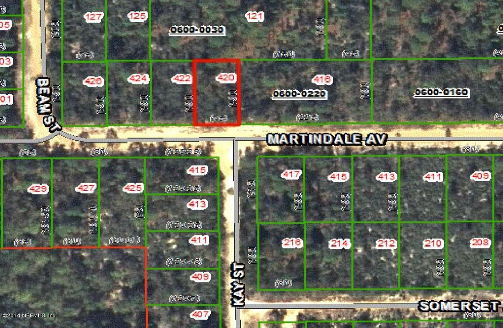 420 Martindale,INTERLACHEN,FLORIDA 32148,Vacant land,Martindale,727858
