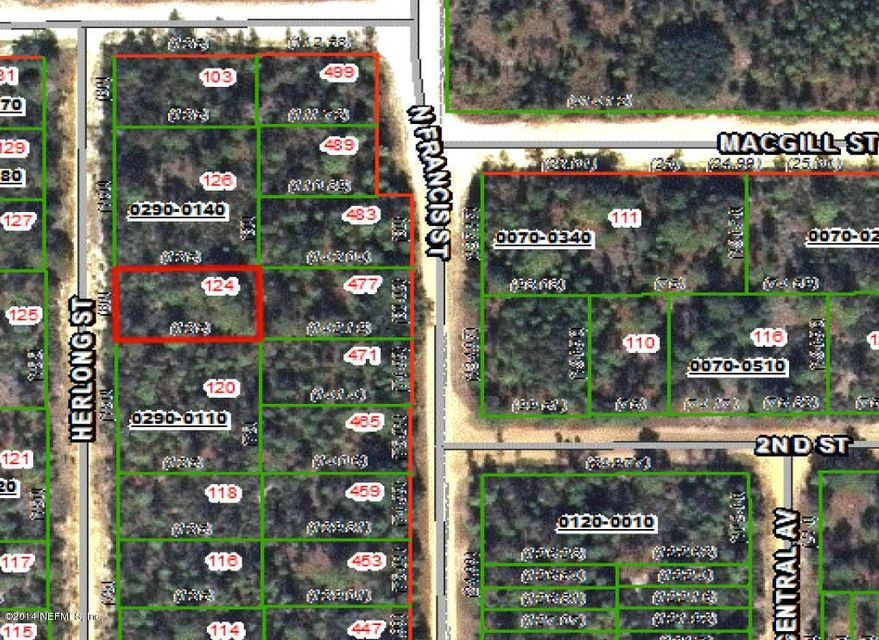 124 Herlong,INTERLACHEN,FLORIDA 32148,Vacant land,Herlong,727867