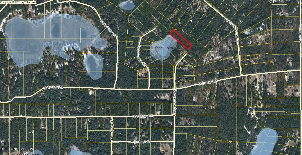 7006 Ridge Trail,KEYSTONE HEIGHTS,FLORIDA 32050,Vacant land,Ridge Trail,735153