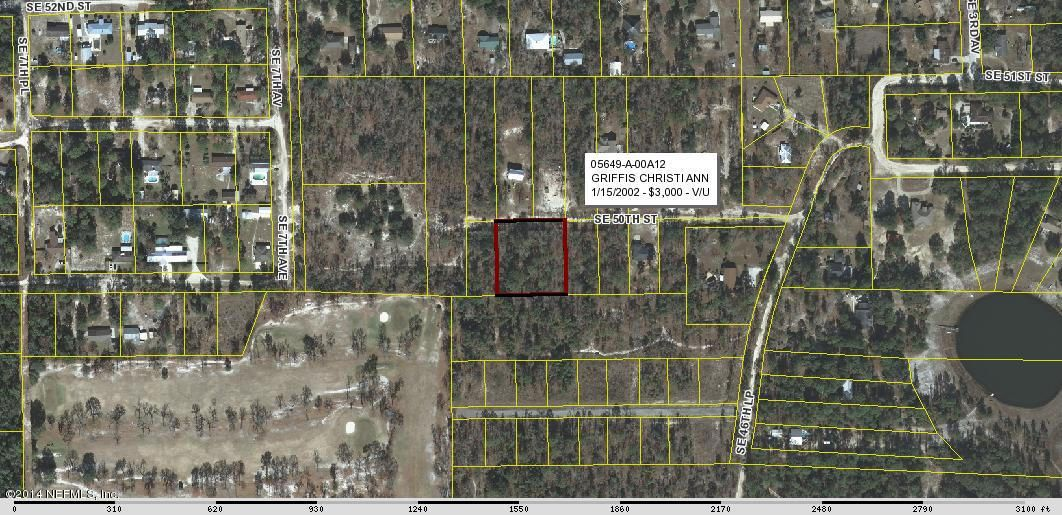 00 50TH,KEYSTONE HEIGHTS,FLORIDA 32656,Vacant land,50TH,736239