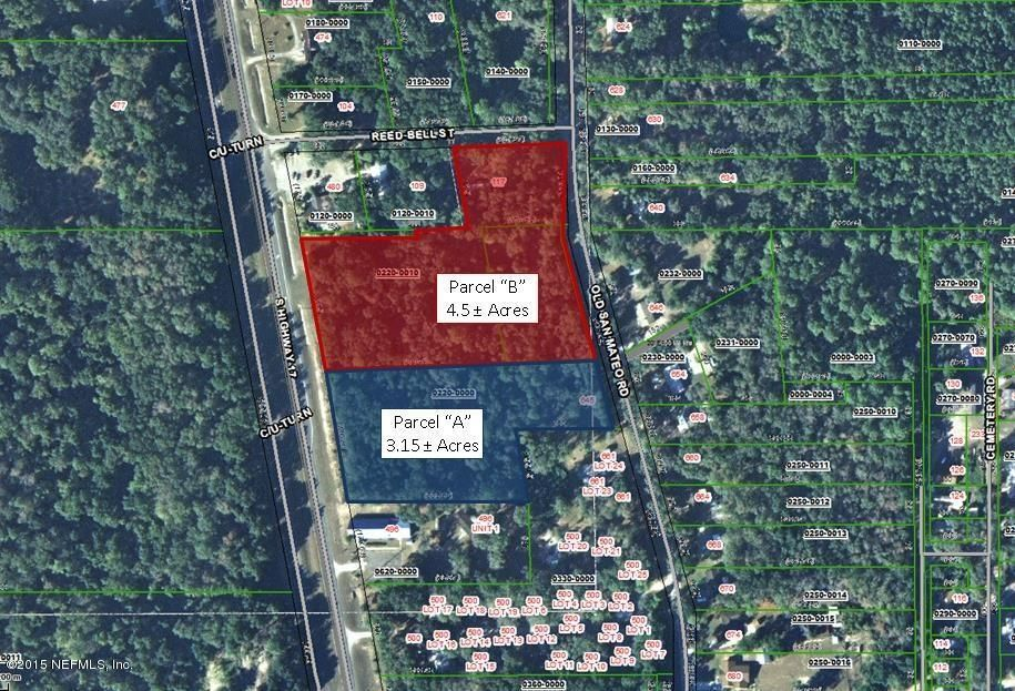 Parcel B Highway 17, SAN MATEO, FLORIDA 32187-2232, ,Vacant land,For sale,Highway 17,755292