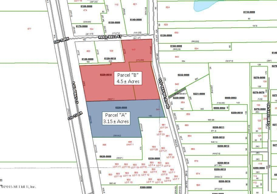 Parcel A Highway 17, SAN MATEO, FLORIDA 32187, ,Commercial,For sale,Highway 17,755297