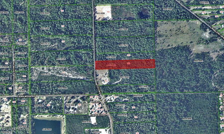 158 PETTIT,CRESCENT CITY,FLORIDA 32112,Vacant land,PETTIT,771078