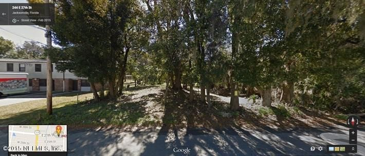 242 27TH,JACKSONVILLE,FLORIDA 32206,Vacant land,27TH,777767