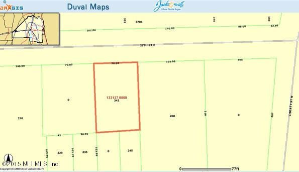242 27TH, JACKSONVILLE, FLORIDA 32206, ,Vacant land,For sale,27TH,777767
