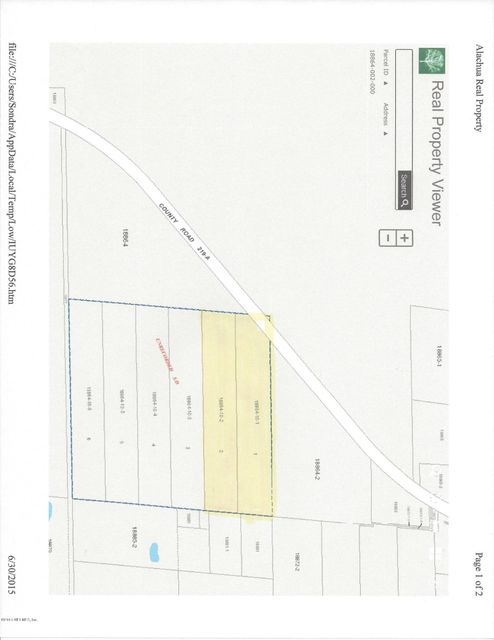 00 COUNTY ROAD 219-A,MELROSE,FLORIDA 32666,Vacant land,COUNTY ROAD 219-A,780135