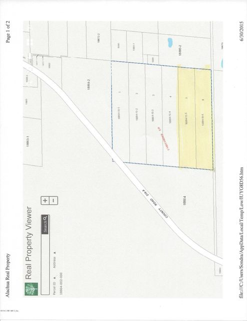 00 COUNTY ROAD 219-A,MELROSE,FLORIDA 32666,Vacant land,COUNTY ROAD 219-A,780143