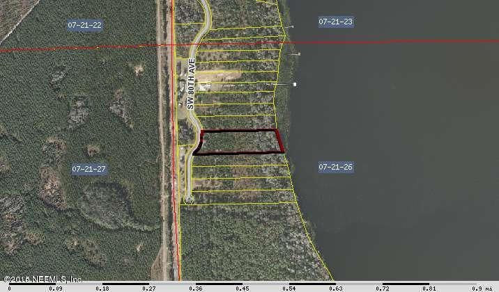 80,HAMPTON,FLORIDA 32044,Vacant land,80,781509