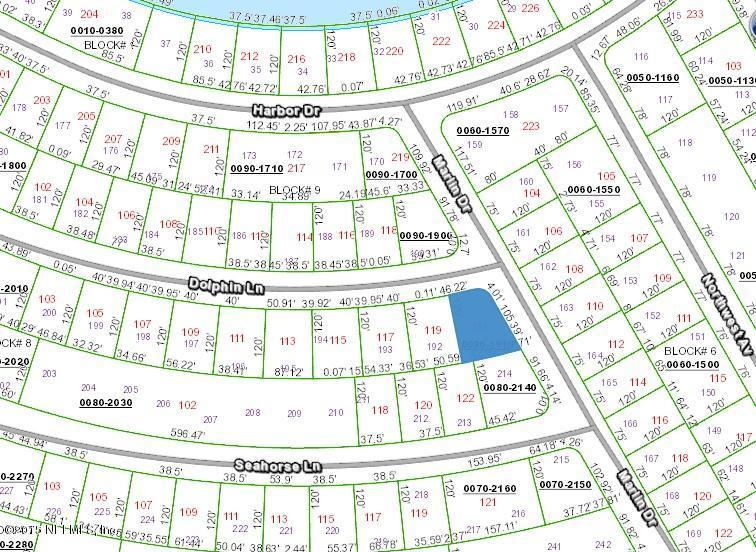XXXX CORNER DOLPHIN LN & MARLIN DR, PALATKA, FLORIDA 32177, ,Vacant land,For sale,CORNER DOLPHIN LN & MARLIN DR,800716