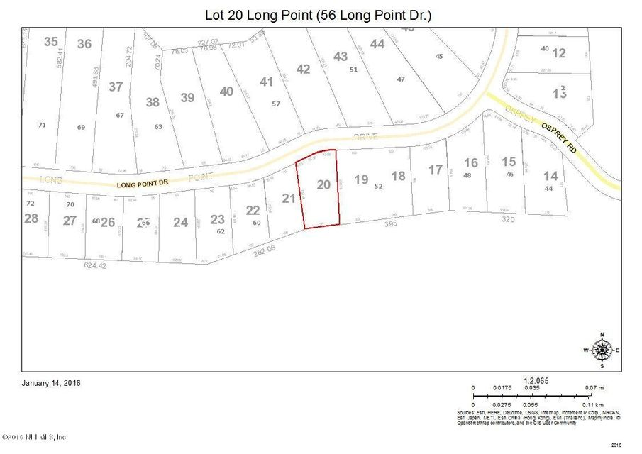 LOT 20 LONG POINT,FERNANDINA BEACH,FLORIDA 32034,Vacant land,LONG POINT,811755