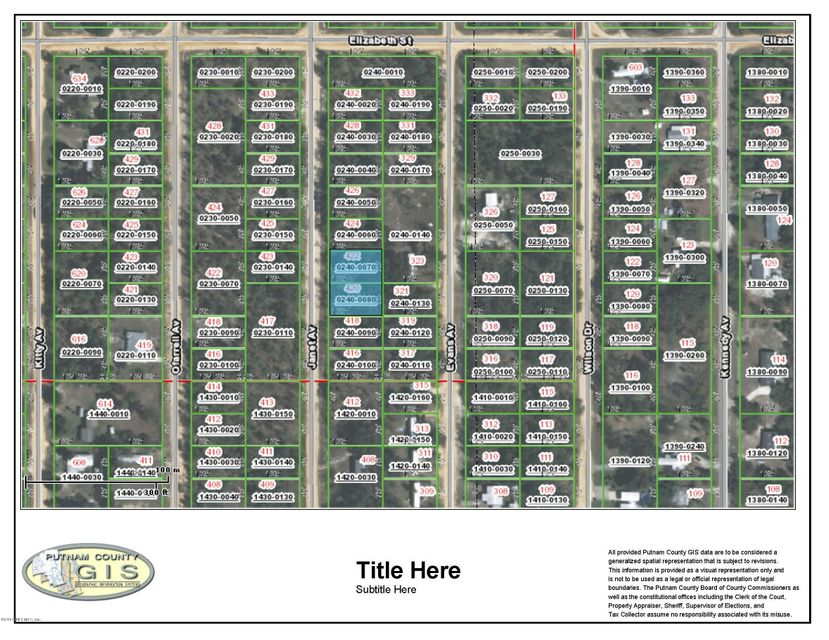 422 JANET, INTERLACHEN, FLORIDA 32148, ,Vacant land,For sale,JANET,815765