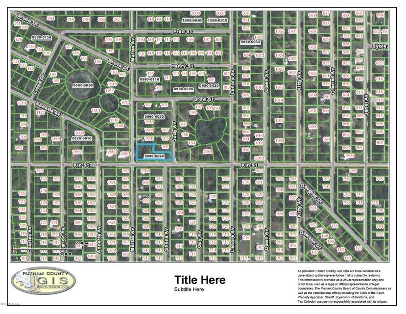 2500 KIN- INTERLACHEN- FLORIDA 32148, ,Vacant land,For sale,KIN,815769
