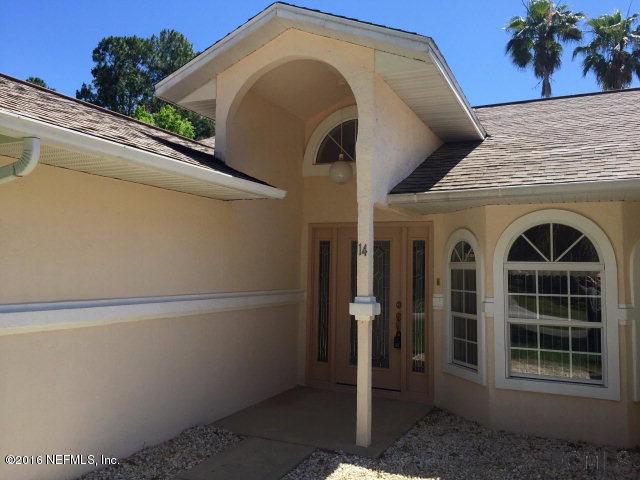 14 WEBWOOD,PALM COAST,FLORIDA 32164,3 Bedrooms Bedrooms,2 BathroomsBathrooms,Residential - single family,WEBWOOD,816233