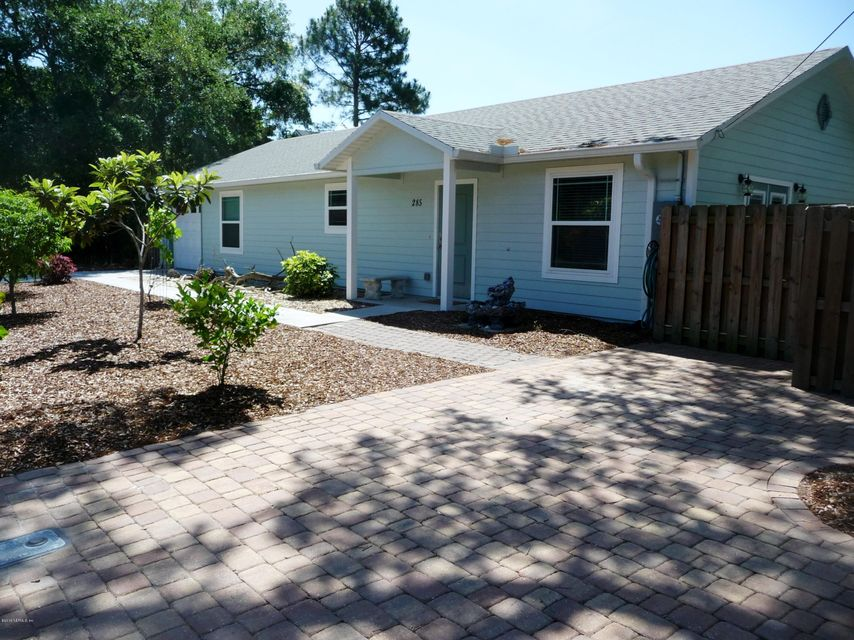 285 F,ST AUGUSTINE,FLORIDA 32080-6874,3 Bedrooms Bedrooms,3 BathroomsBathrooms,Residential - single family,F,826004