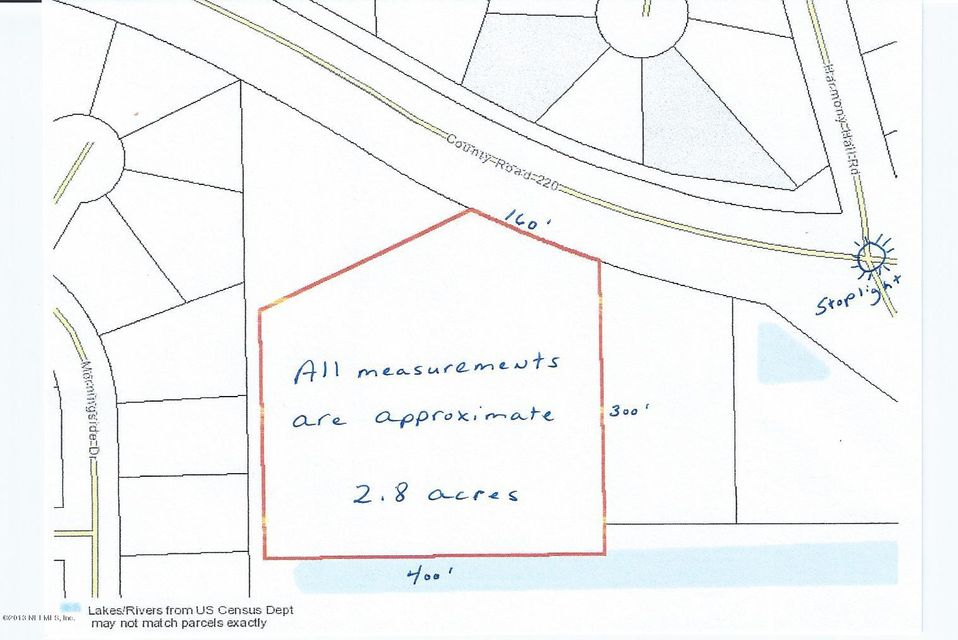 2141 CR 220,MIDDLEBURG,FLORIDA 32068-6625,Vacant land,CR 220,828858