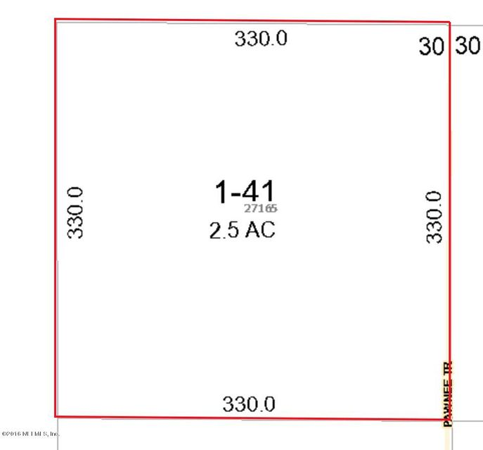 27165 PAWNEE,HILLIARD,FLORIDA 32046,Vacant land,PAWNEE,829669