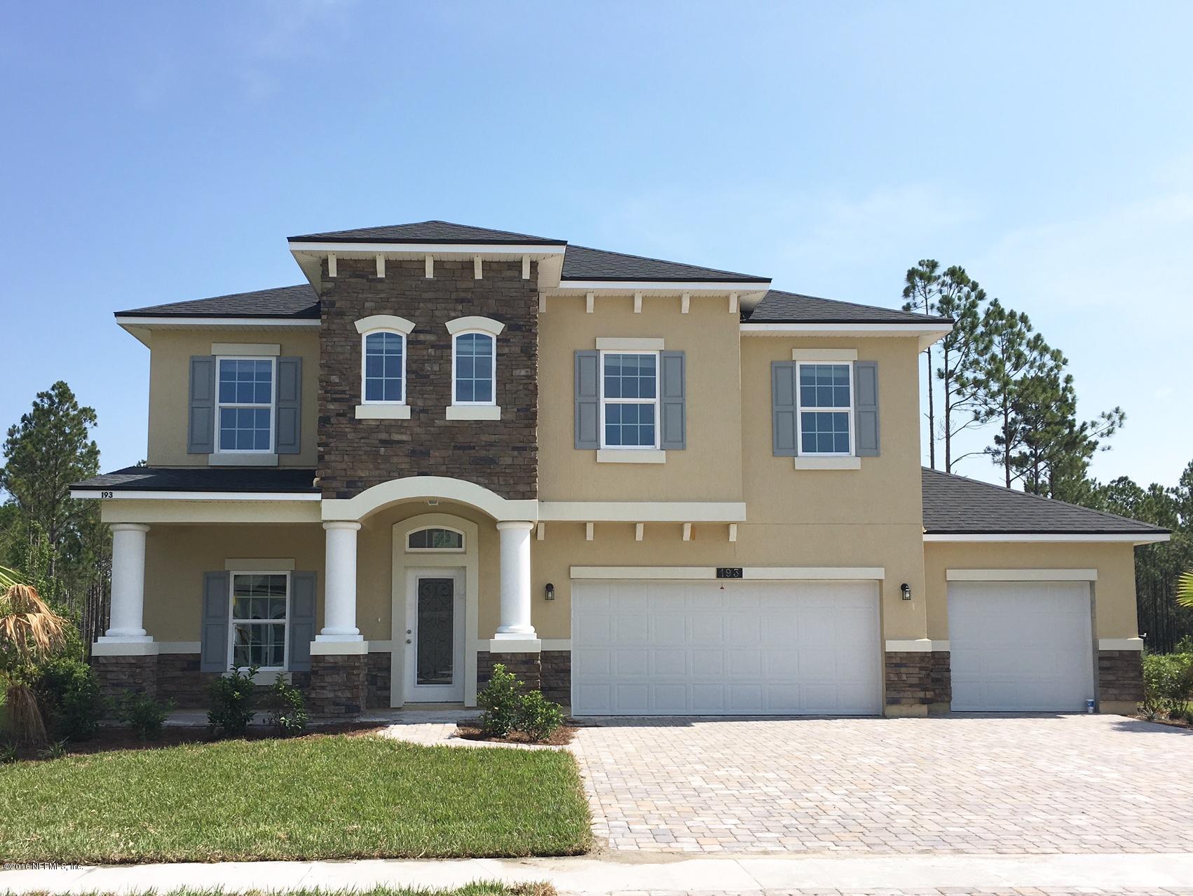193 BALVENIE,ST JOHNS,FLORIDA 32259,5 Bedrooms Bedrooms,3 BathroomsBathrooms,Residential - single family,BALVENIE,805999