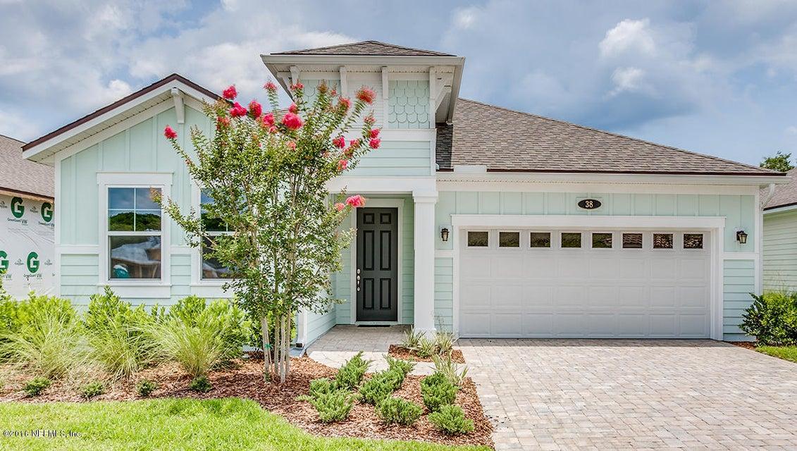 38 BACK NINE,ST AUGUSTINE,FLORIDA 32092-2774,3 Bedrooms Bedrooms,2 BathroomsBathrooms,Residential - single family,BACK NINE,813004