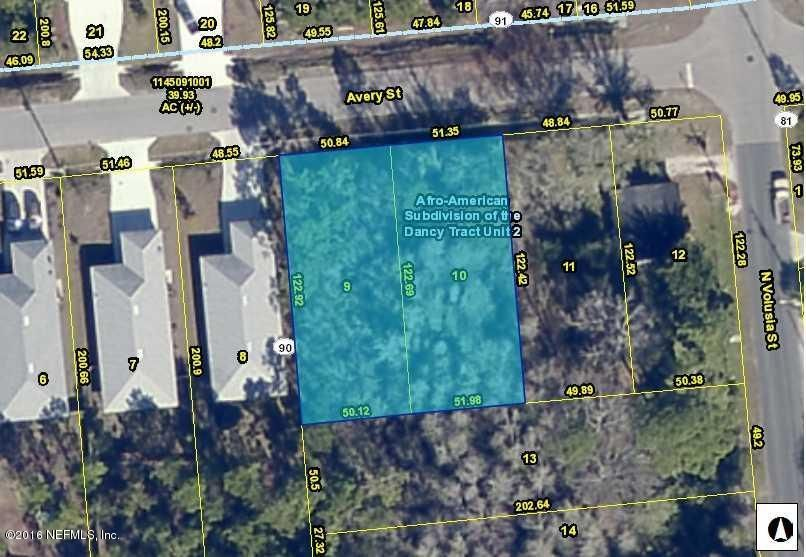 913 AVERY,ST AUGUSTINE,FLORIDA 32084,Vacant land,AVERY,840820