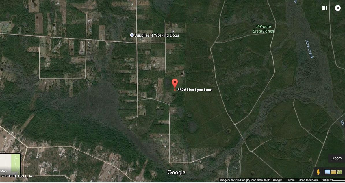 5826 LISA LYNN,KEYSTONE HEIGHTS,FLORIDA 32656-9785,Vacant land,LISA LYNN,841106