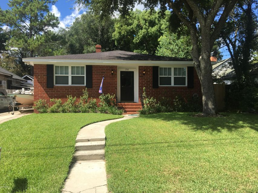 1748 GREENWOOD AVE, JACKSONVILLE, FL 32205