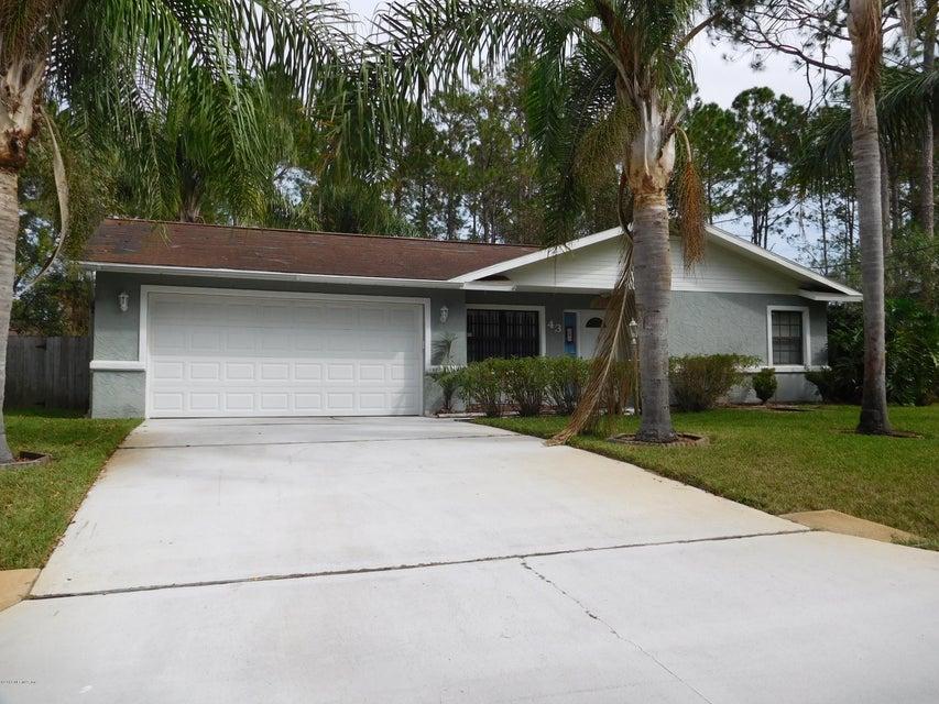 43 WESTMOUNT,PALM COAST,FLORIDA 32164,3 Bedrooms Bedrooms,2 BathroomsBathrooms,Residential - single family,WESTMOUNT,854508
