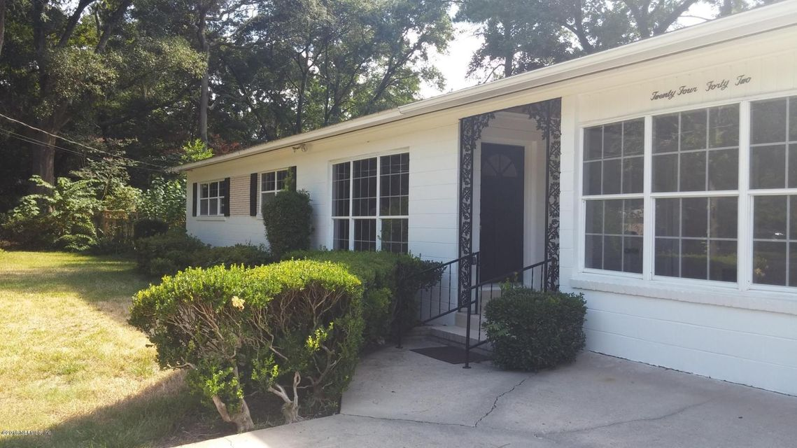 2442 BARLAD,JACKSONVILLE,FLORIDA 32210,3 Bedrooms Bedrooms,2 BathroomsBathrooms,Residential - single family,BARLAD,858004