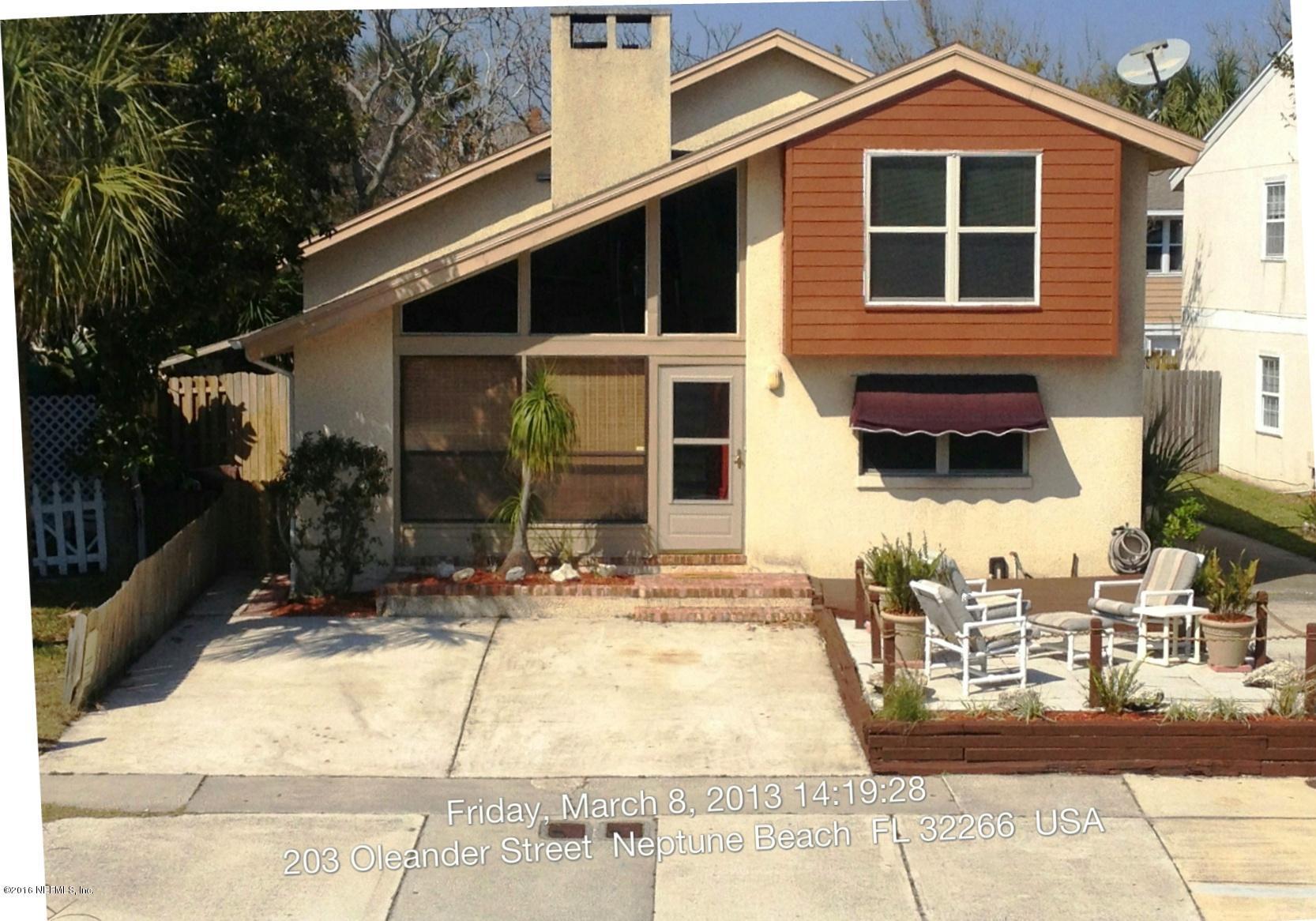 204 OLEANDER,NEPTUNE BEACH,FLORIDA 32266,4 Bedrooms Bedrooms,4 BathroomsBathrooms,Residential - single family,OLEANDER,859565