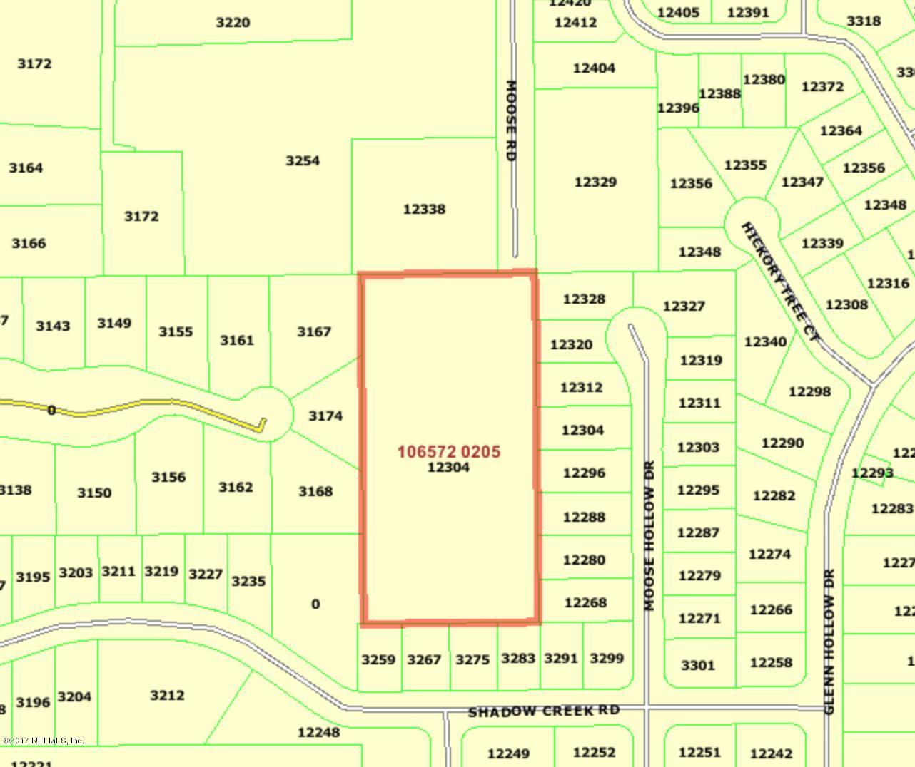 12304 MOOSE RD, JACKSONVILLE, FL 32226